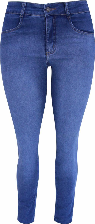 Calça Pau a Pique Skinny Jeans Claro