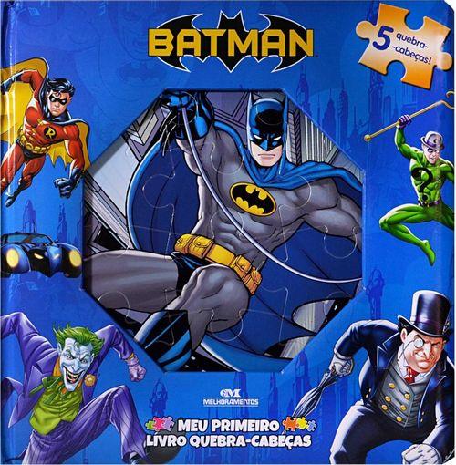 Batman ? Meu Primeiro Livro Quebra-cabeças -