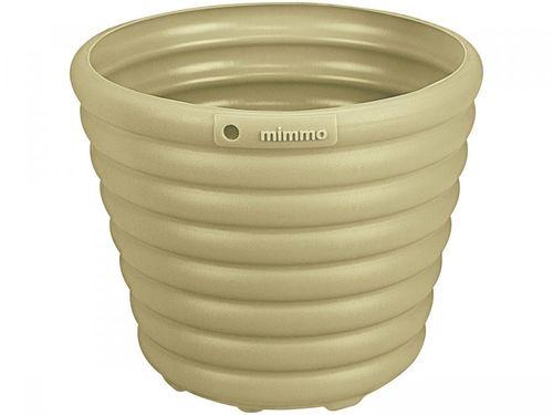 Cachepô/Vaso para Plantas 1,7L 16,2x13,5x16,2cm - Tramontina Sweet Garden Mimmo Verde Musgo