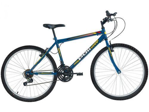 Bicicleta Aro 26 Mountain Bike Polimet 7129 - Freio V-Brake 18 Marchas