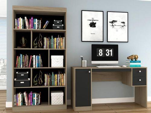 Conjunto Escritório Hecol Móveis Home Office - HO-2973 2 Peças