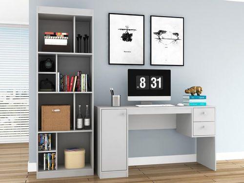 Conjunto Escritório Hecol Móveis Home Office - HO-2976 2 Peças