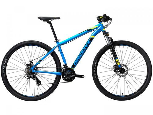 "Bicicleta Aro 29"" Mountain Bike Groove Zouk - Freio a Disco 21 Marchas Câmbio Shimano"