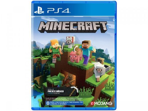 Minecraft Starter Collection para PS4 - Mojang