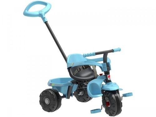 Triciclo Infantil Smart Plus com Empurrador - Bandeirante