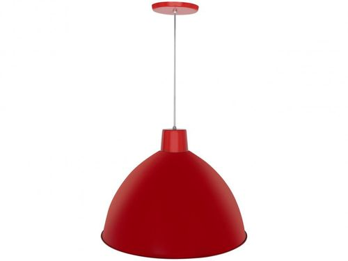 Pendente para Sala Vermelho LED - Taschibra Design TD 822