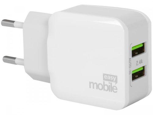 Carregador de Parede Easy Mobile CARPPOW24BR - 2 Entradas USB