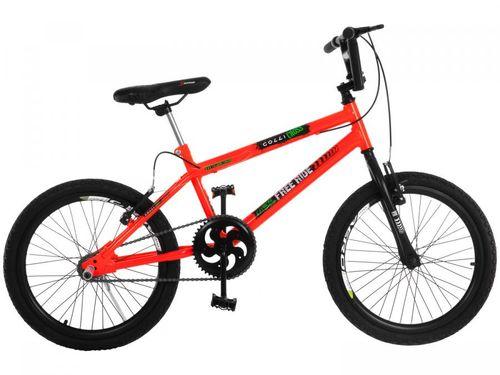 Bicicleta Infantil Aro 20 Colli Cross Extreme - Laranja Neon Freio V-Brake