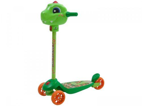 Patinete 3 Rodas Skatenet Dino - Bandeirante