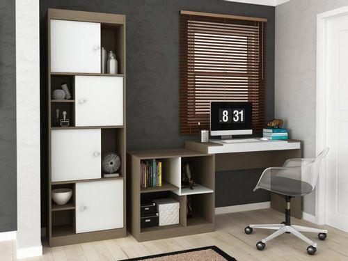 Conjunto Escritório Hecol Móveis Home Office - HO-2974 2 Peças