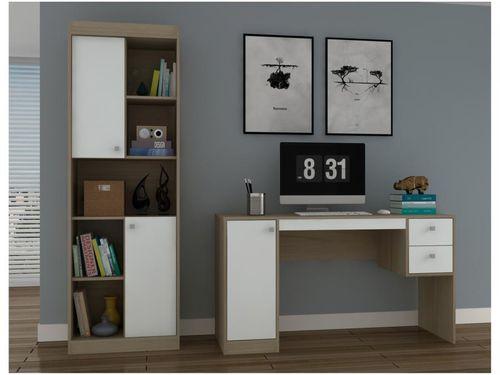 Conjunto Escritório Hecol Móveis Home Office - HO-2970 2 Peças