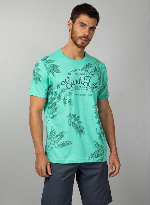 Camiseta TNG Floral Masculino