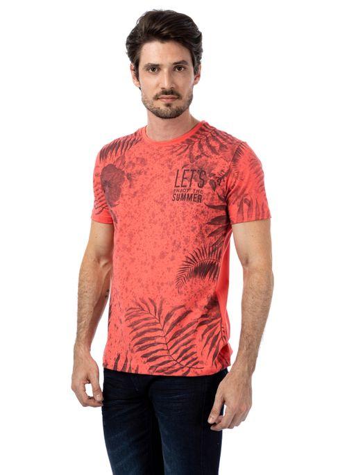 Camiseta TNG Floral Let S Enjoy Masculino