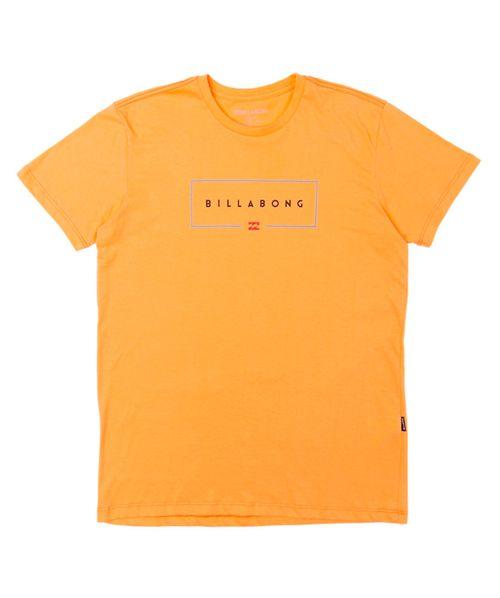 Camiseta Billabong Union Laranja