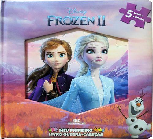 Frozen 2 - Meu Primeiro Livro Quebra-Cabeças