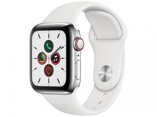 Apple Watch Series 5 40mm GPS + Celullar - Wi-Fi Bluetooth Esportiva 32GB Resistente à Água