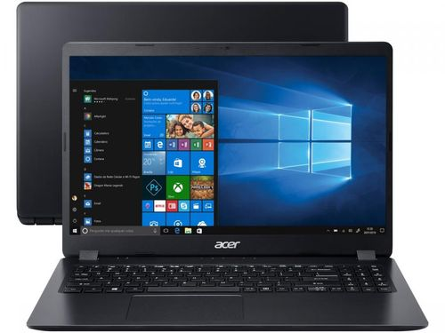 """Notebook Acer Aspire 3 AMD Ryzen 5 8GB 1TB 15,6"""" - Placa de Vídeo Dedicada Windows 10"""
