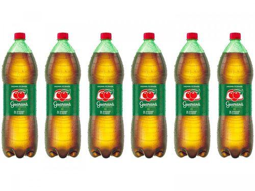 Refrigerante Guaraná Antarctica Original do Brasil - 2L 6 Unidades