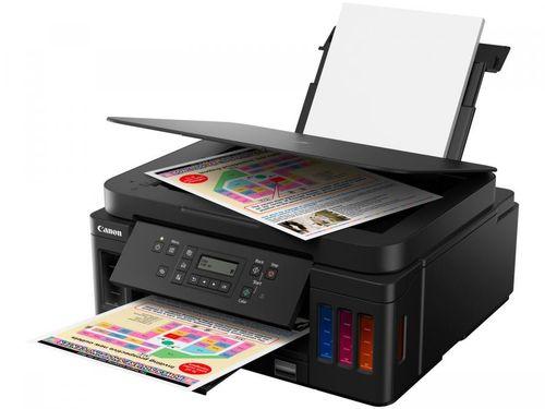 Impressora Multifuncional Canon G6010 - Tanque de Tinta Colorida Wi-Fi USB