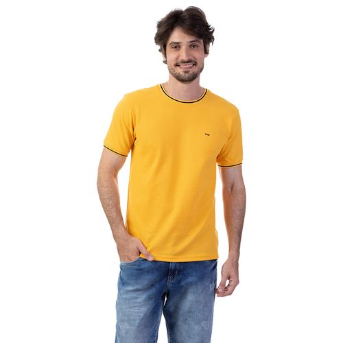 Camiseta Ponto De Piquet Com Retininea