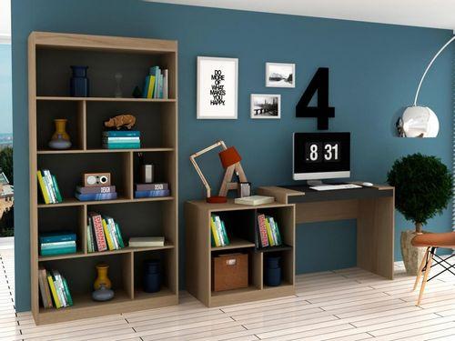 Conjunto Escritório Hecol Móveis Home Office - HO-2965 2 Peças
