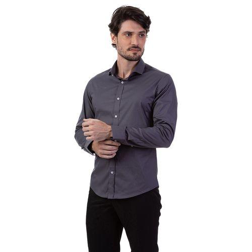 Camisa C/ Elastano Lisa Ml