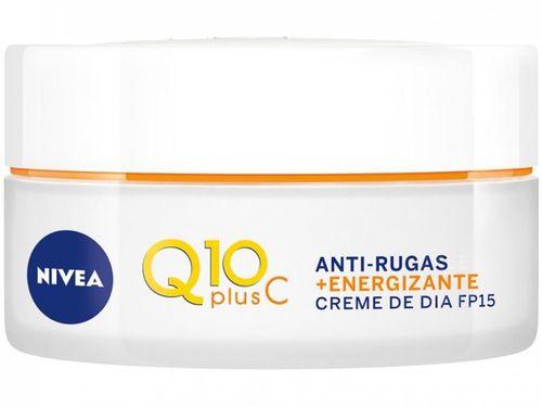 Creme Antissinais Facial Diurno Nivea Q10 Plus C - 51g