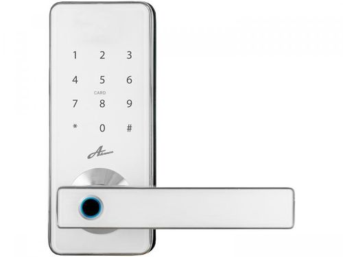 Fechadura Digital Advance Milre Bio D Tech 8500 - Biométrica com Senha e Cartão Interna de Embutir
