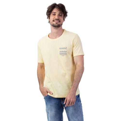 Camiseta Flame Bolso Estampado