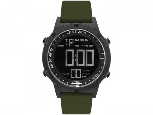 Relógio Masculino Mormaii Digital - MOW13901F/8V Verde