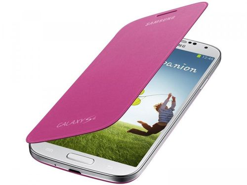 Capa Protetora Flip Cover para Galaxy S4 - Samsung
