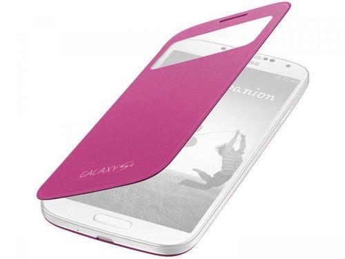Capa Protetora Flip p/ Galaxy S4 View Cover - Samsung