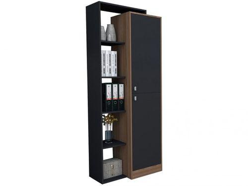 Armário 2 Portas 7 Prateleiras Appunto - Office EST3001