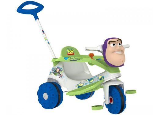 Triciclo Infantil Buzz Lightyear 3050 - com Empurrador Bandeirante