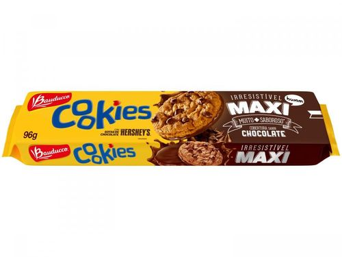 Cookies Chocolate Maxi Bauducco 96g -