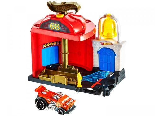 Playset Hot Wheels City Bombeiros - Mattel 2 Peças FMY95