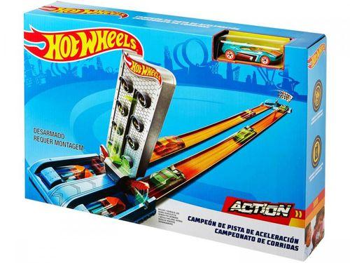Pista Hot Wheels Tracks GBF81_GBF82 - Mattel GBF81