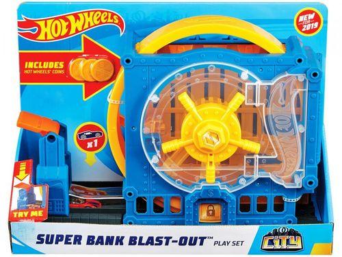 Pista Hot Wheels Super Bank - Mattel FNB15