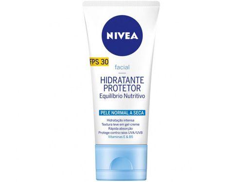 Gel-Creme Hidratante Facial Nivea - Equilíbrio Nutritivo 30 FPS 50g