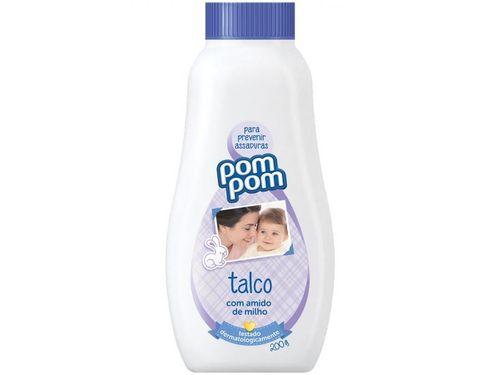 Talco Infantil Pom Pom 16236-0 - 200g