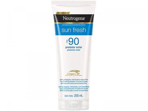 Protetor Solar Neutrogena FPS 90 Sun Fresh - 200ml