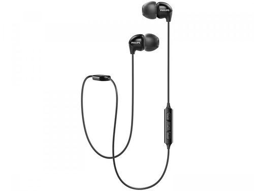 Fone de Ouvido Bluetooth Philips Upbeat - SHB3595BK/10 Intra-auricular com Microfone Preto