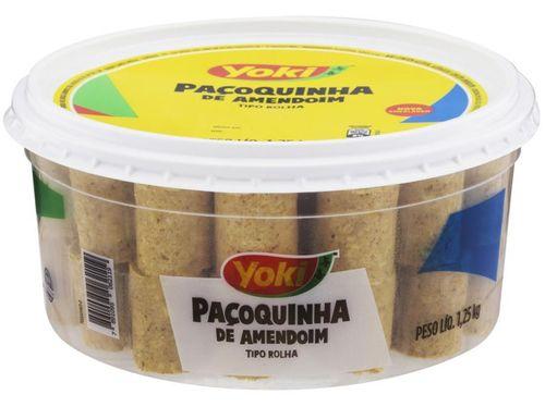 Paçoca Rolha Original Yoki - 1,25kg