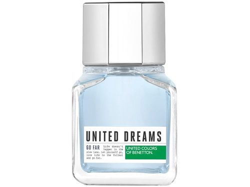 Perfume Benetton United Dreams Go Far Masculino - Eau de Toilette 60ml