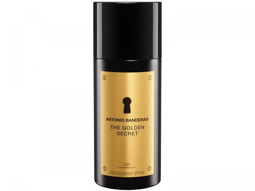 Desodorante Antonio Banderas The Golden Secret - Spray Masculino 150ml
