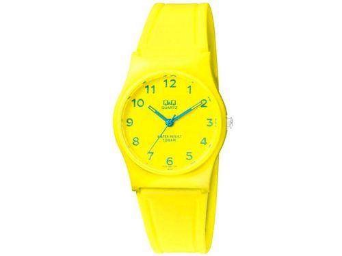 Relógio Feminino Q&Q Analógico VP34J063Y - Amarelo