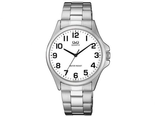 Relógio Masculino Q&Q Analógico QA06J204Y - Prata