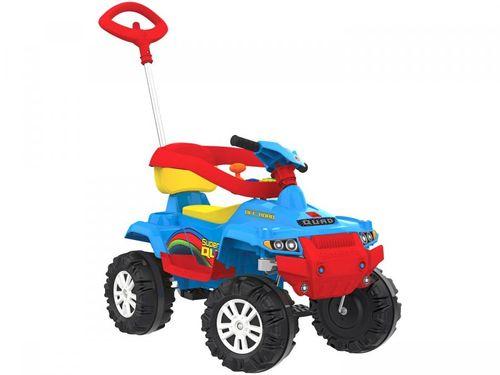 Quadriciclo Infantil a Pedal Superquad 592 - Bandeirante