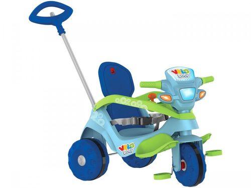 Triciclo Infantil Velobaby 214 com Empurrador - Bandeirante