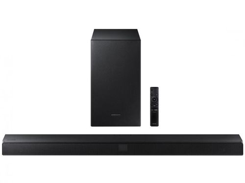 Soundbar Samsung com Subwoofer Wireless Bluetooth - 320W 2.1 Canais HW-T550/ZD